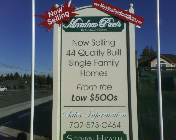 Real Estate Signs Santa Rosa