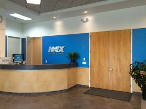 idex digital vinyl dusted crystal wall wrap installation gemini dimensional letters facility signage_0775