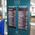 Wayfinding, sign, signage, Post and panel, exterior, exterior signs, banner, ADA, Sign, Signage, Santa Rosa, directory
