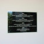 Directory,Wayfinding, sign, signage, Post and panel, exterior, exterior signs, banner, ADA, Sign, Signage, Santa Rosa
