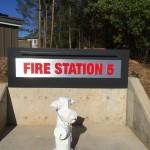 city of santa rosa fire department acrylic metal sign panel led lit brushed aluminum_3522