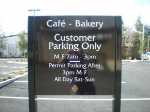 SRJC cafe bakery post & panel 1909